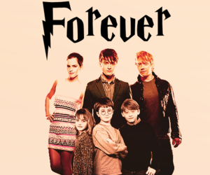 forever and harry potter image