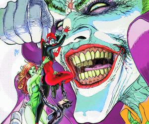 joker, catwoman, and poison ivy image