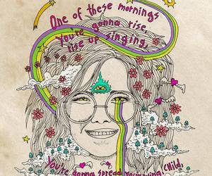 draw, janis joplin, and music image