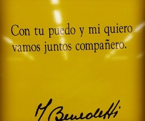 frases, mario benedetti, and poesia image