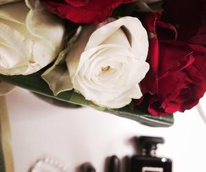 black, earrings, and luxury image