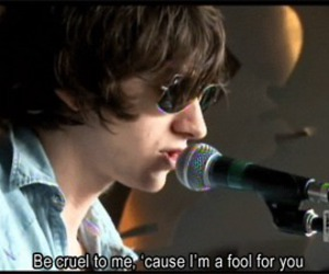 arctic monkeys and quote image
