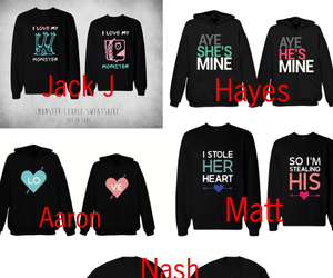 magcon, magcon boys, and matching hoodies image
