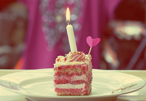 Cake Cute Happy Birthday Heart Sweet Inspiring Picture On