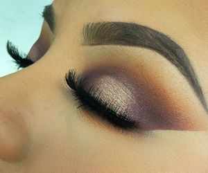 glitter and makeup image