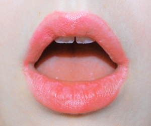 lips, pink, and mouth image