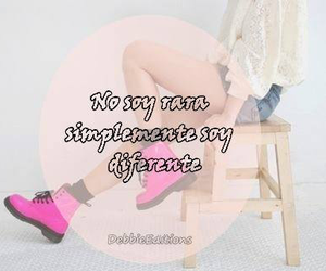 girl and frases en español image