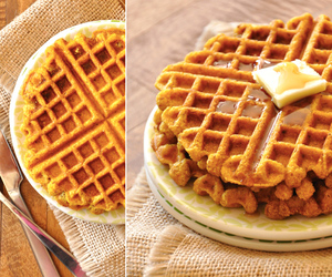 desserts, food porn, and waffle image