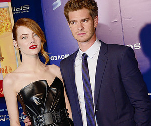 couple, andrew garfield, and stonefield image