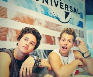 the vamps, james mcvey, and bradley simpson image