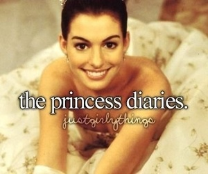 the princess diaries, just girly things, and Anne Hathaway image
