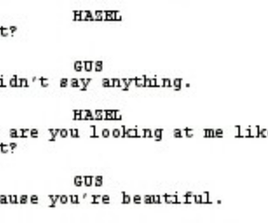 beautiful, hazel, and gus image
