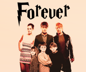 harry potter, forever, and hermione granger image