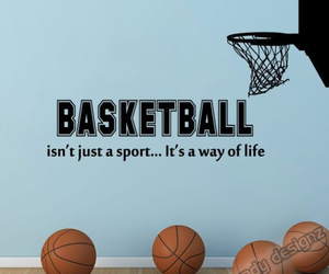 Basketball, quotes, and sport image