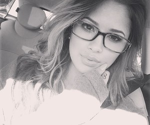 jasmine villegas, jasmine v, and glasses image