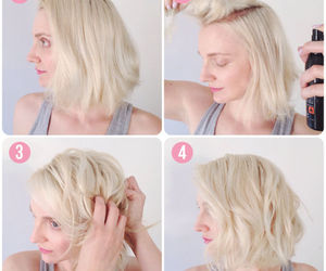 short hair, the beauty department, and hair tips image