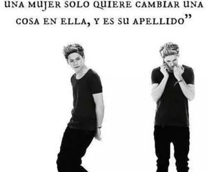 niall hora, one direction, and fraces de amor image