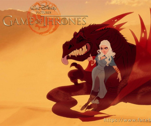 disney, game of thrones, and fan art image