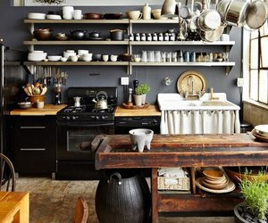 kitchen, interior, and home image