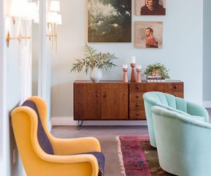 design, girl, and living room image