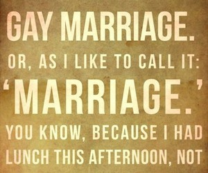 gay, marriage, and gay marriage image