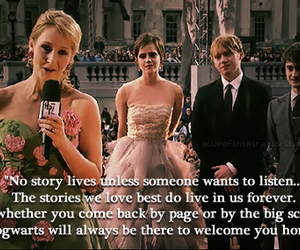 deathly hallows, movie, and premiere image