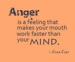 anger, quote, and life image