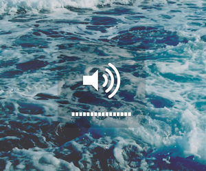 sea, music, and ocean image