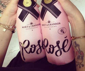 moet, drink, and champagne image
