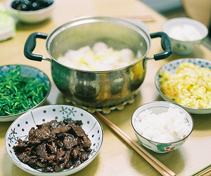food, asia, and rice image