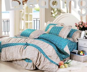flowers, cotton bedding sets, and cheap colorful image