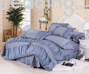 bedding sets, london style, and pure cotton image