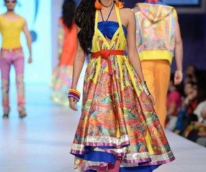 Girls Fashion, girls dresses, and sarees image