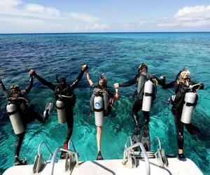 travel, vacations, and scuba diving vacations image