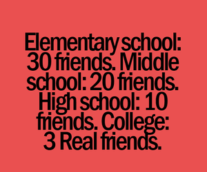 friends, school, and back to school image