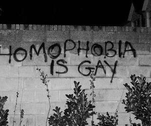 acceptance, gay, and graffitti image