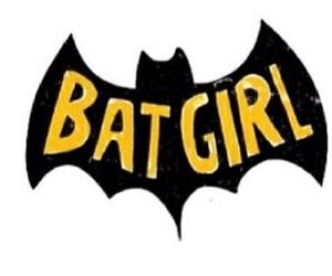 batgirl, batman, and overlay image