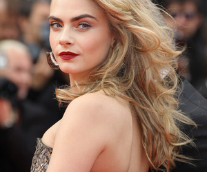 cara delevingne and cannes image