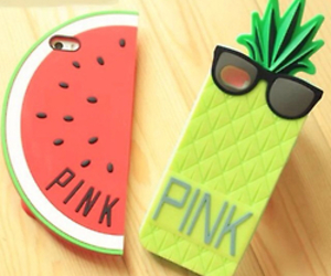 pink, iphone, and watermelon image