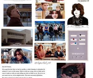 Breakfast Club, collages, and don't you forget about me image