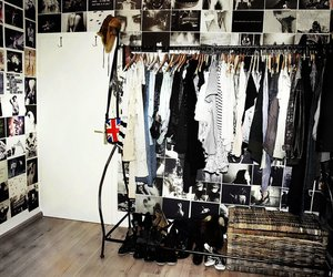 closet, clothes, and hipster image