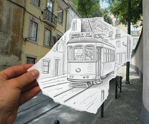 drawing, art, and photography image