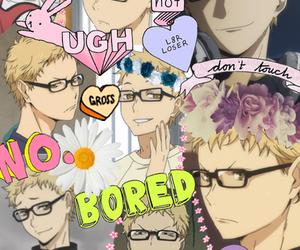 anime, Collage, and haikyuu!! image