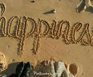 beach, happiness, and ocean image