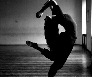 dance and black image