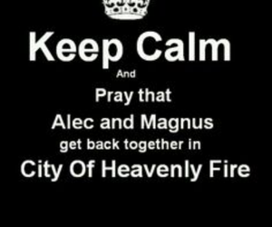 maleç, city of heavenly fire, and the mortal instruments image