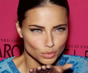Adriana Lima, model, and kiss image