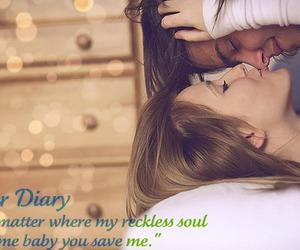 boy, girl, and dear diary image