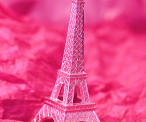eiffel, france, and pink image