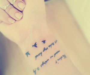 love it, tattoo, and as long as you love me image